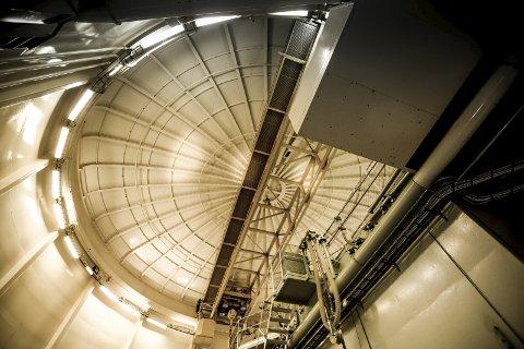 Kan starte: Arbeidet med å få atombrenselet fjernet kan starte, etter at det foreslås bevilget 28 mill. kroner neste år.s