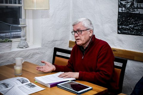 KREVER BEKLAGELSE: Thorleif Blatt krever beklagelse fra NRK etter påstander om at de norske krigsbarna var resultat av et tysk avlsprogram. FOTO: MARTINIUS EID