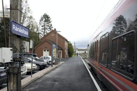 VELGES: Rånåsfoss stasjon.