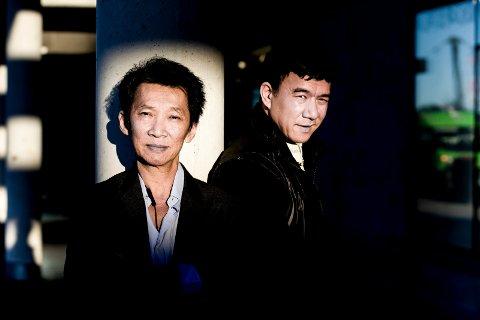 Nhu Quang Vo (t.v.) og Khang Le hadde valget om å slå seg til ro flere steder etter reisen over havet, men valgte Norge og Lørenskog. De ønsket å gi noe tilbak til landet som reddet dem.