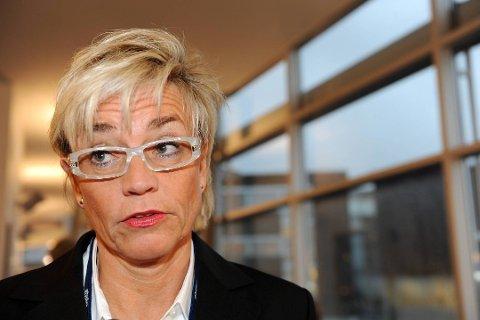 FORSVARER: Gunhild Lærum representerer den siktede Frp-politikeren.