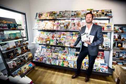 Nye Tider: Administrerende direktør i Bladcentralen ANS, Pål Bergdahl, opplever oppsving i boksalget men nedtur i bladsalget.Foto: Tom Gustavsen