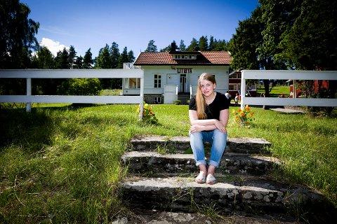 Siri Marie Seim Sønstelid tilbake til Utøya for 6 gang siden 2011.