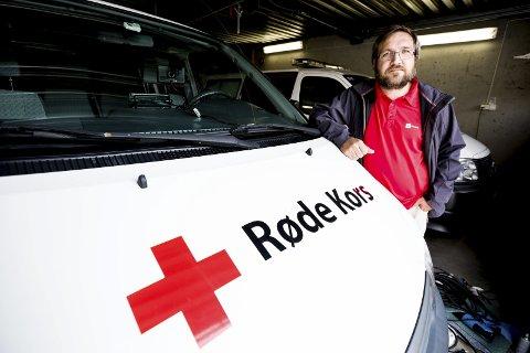 – MÅ ha med flere: Ola Strømman, frivillig prosjektleder i Skedsmo Røde Kors vil ha med flere ungdommer fra Romerike til Polen og Tyskland i høstferien. FOTO: TOM GUSTAVSEN
