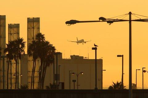 PÅ TUR: Turer til USA har hatt en særlig sterk vekst fra Oslo Lufthavn i året som gikk. FOTO: NTB/SCANPIX