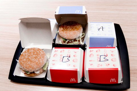 LANSERER VEGETARISK: Stadig flere velger å spise mindre kjøtt, og junk food-kjedene følger etter. Foto: Guro Holmene (Side2)