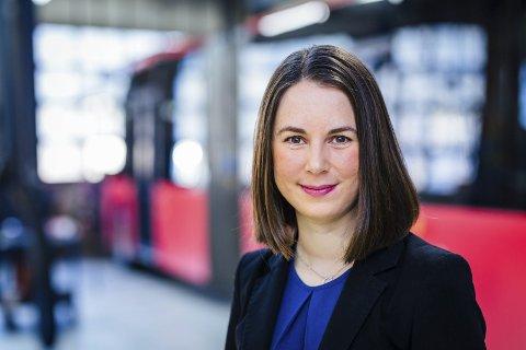 FÅR KONSEKVENSER: Kommunikasjonssjef i Unibuss, Ina Helen Østby. FOTO: Unibuss