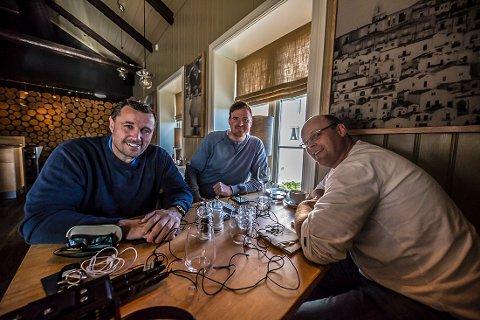 NYHET: Tom Nordlie, Fredrik «Blaker'n» Larsen og RB-sportens Morten Svesengen er førstemann ut i RBs nye satsning.
