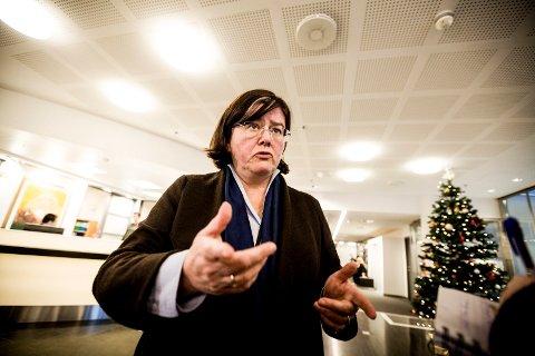 SIKKER: Fylkesordfører Anette Sollie føler seg trygg på at Viken blir en realitet.