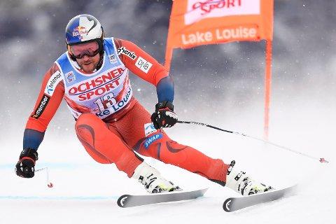 TILBAKE IGJEN: Aksel Lund Svindal gjorde nok et comeback da han kjørte sitt første verdenscuprenn på nesten ett år.