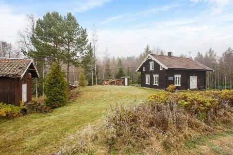 GOD INTERESSE: Fire budgivere kjempet om småbruket i Skogbygda.