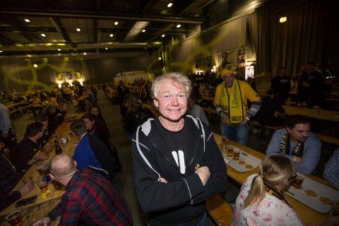 Arrangør Jan Martinsen har store forventninger til kvelden.