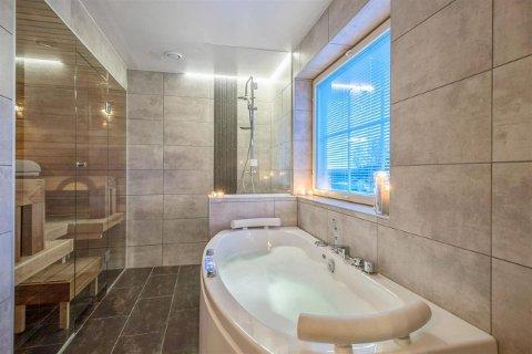 SPA: Spa-avdelingen inneholder både spabad og sauna.