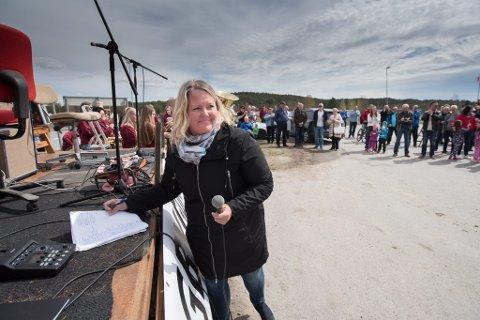 LOKALPATRIOT: Ordfører Grete Sjøli, selv fra Skogbygda, vil bevare Skogbygda skole.