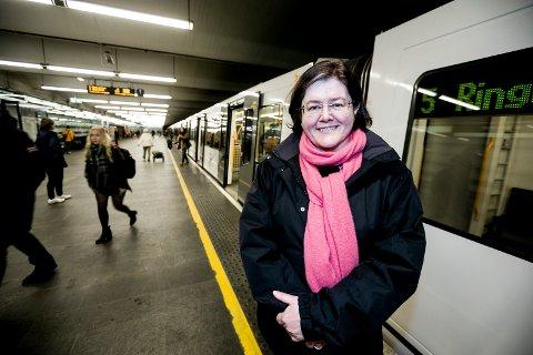 LEGGER BOMPLANER: Fylkesordfører Anette M. Solli (H) sitter i styringsgruppa for Oslopakke 3. Foto: Tom Gustavsen
