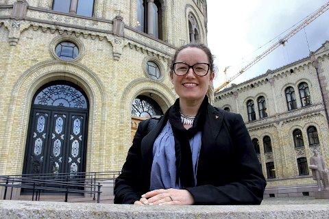 FORNØYD: Høyre-ordfører Marianne Grimstad Hansen  i Sørum.