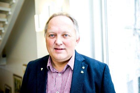 STILLER MANNSTERKE: Sommertogets ankomst til Eidsvoll skal markeres av et stort antall lokale aktører, ifølge ordfører John Erik Vika.