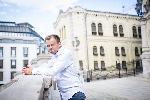 Svein Tore Marthinsen. Valganalytiker fra Jessheim.
