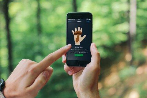 I appen får du en brukerveiledning på hvordan du skal ta bilder av soppen til kontroll.