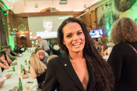 FIKK PLASS: Martha Tærud, kandidat til Stortinget i 2017, blir medlem av Nannestad kommunestyre. Hun rykket opp fra 18. til 5. plass i Senterpartiet.