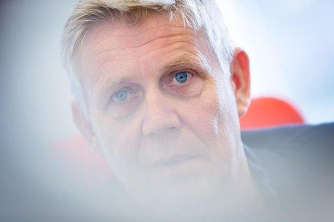 Eivind Landsverk startet karrieren som kaffekoker i NRK-sporten på midten av 1980-tallet. Deretter har det gått slag i slag med diverse jobber i NRK, lokal-TV, TV 2 og til slutt TVNorge og Discovery Norden. Foto: Paul Weaver (Mediehuset Nettavisen)