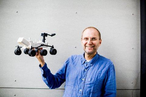 2017.09. 12. Kjeller. FFI. Svein- Erik Hamran. FFI lager deler til NASAs kjøretøy som skal bruks i den neste Mars-ekspedisjonen 2020
