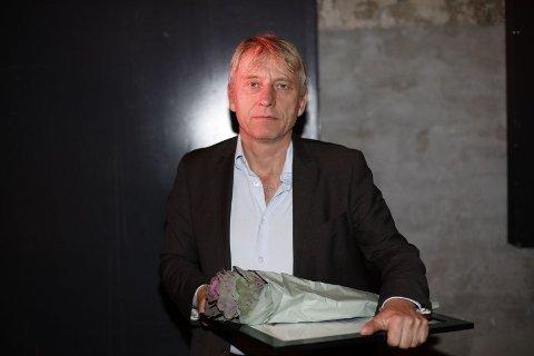 Ansvarlig redaktør Magne Storedal mottok prisen under Amedias lederkonferanse denne uka.