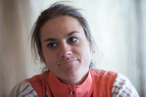 SLITER MED BEINA: Heidi Weng kan ikke løpe på flatmark. FOTO: NTB SCANPIX