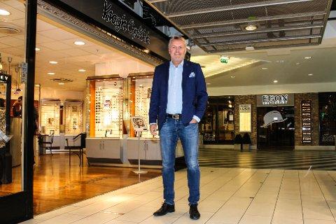 Vil påvirke: Bomsatsingen kan hindre Oslo-kundene fra å handle i Lørenskog, tror Solvei.