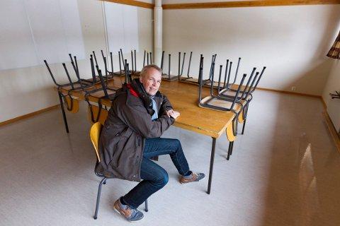 GIR IKKE OPP: Paal-Mogens Furuseth og Hoppensprett AS har fortsatt som mål å åpne ungdomsskole på Brårud neste høst.