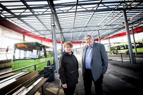 SLÅSS FOR POLITIHØGSKOLEN: Skedsmo-ordfører Ole Jacob Flæten og Lørenskog-ordfører Ragnhild Bergheim mener alt taler for at den nye Politihøgskolen må lokaliseres til Lillestrøm.