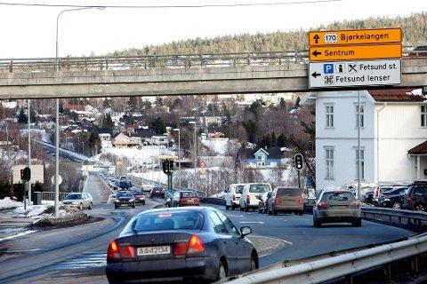 HASTER: Statens vegvesen håper på rask oppstart av bygging av ny bru over Glomma i Fet. FOTO: ARKIV