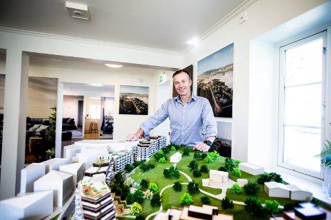 SNØLIA: Snølia står for 360 av de 2400 leilighetene som bygges i kommunen. – Salget har gått over forventning, sier Lars Lund Mathisen, prosjektsjef i Selvaag bolig, få uker etter salgsstart.