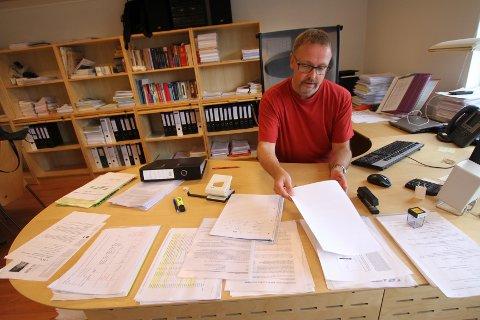 Tilsynsleder Tommy Pedersen i Arbeidstilsynet Østfold og Akershus er bekymret over hva Arbeidstilsynet har avdekket av farlig arbeid.