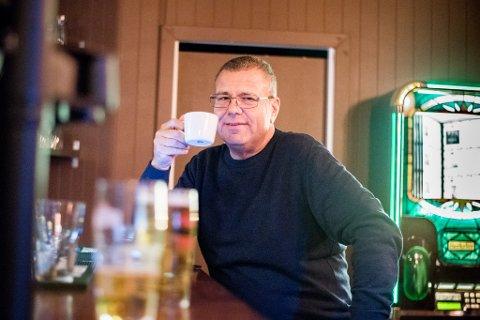 Ett år uten alkohol: Radioprofilen Erik Engen har gått ned 42 kilo siden han kuttet ut alkoholen.