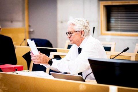Korrupsjon: Advokat Kristen S. Fari forsvarer den korrupsjonstiltalte tidligere virksomhetslederen i Nannestad kommune. Foto: Lisbeth Andresen