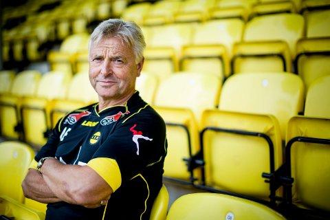 SKAL TILBAKE: Tidligere LSK-trener Arne Erlandsen har hatt et tøft år. Like etter at han fikk sparken i klubben, ble han diagnostisert med kreft.