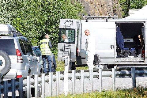 ÅSTEDET: Drapet ble begått på denne rasteplassen. Foto: Audun Braastad / NTB scanpix