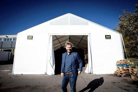 Fornøyd: Lars Dalgaard, daglig leder i Hallgruppen, profitterer godt på høstens NATO-øvelse.