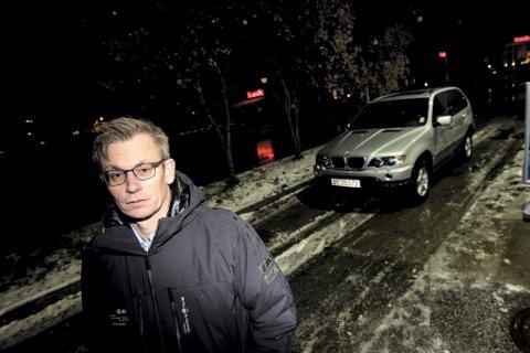Forbannet: Audun Bollerud synes det er horribelt at sjåføren som kjørte på ham bare stakk fra stedet, – Det er viktig at slike blir tatt, sier han og utlover en dusør på 5000 kroner til den som har avgjørende opplysninger.
