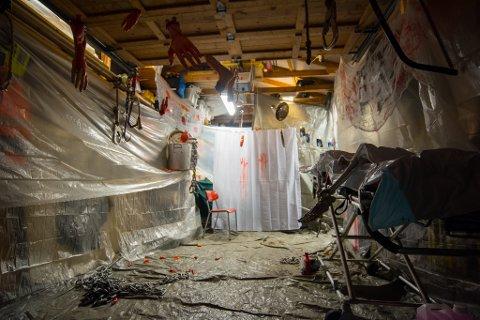 HADDE DU TURT?: I fjor feiget 700 personer ut da de gikk gjennom skrekkhuset. I år skal det være mye verre. Hadde du turt å gått gjennom huset?