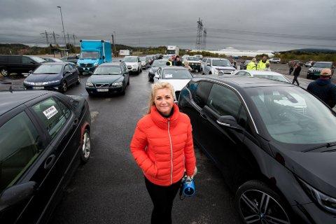 MISTET LAPPEN: Cecilie Lyngby opplyser at hun ble fratatt førerkortet etter aksjonen.