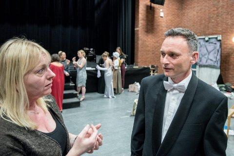 Fersk: Hasse Sørensen debuterte som skuespiller i fjor. I år utfordret dramapedagog Grete Økern han til å synge.