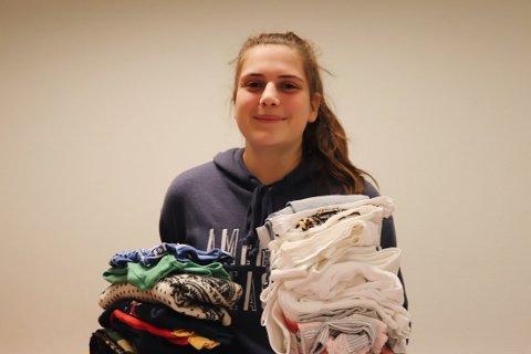 EN GLEMT GRUPPE: – Det er synd at noen gruer seg til jul, vi vil gjøre en forskjell, sier Lisa Radford (15)