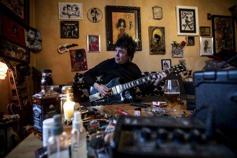Rocker: Petter Baarli står oppført med 88 110 kroner for inntektsåret 2017.