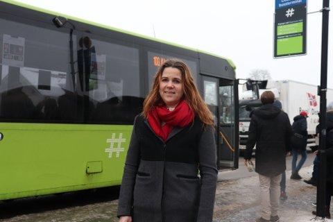 RENERE LUFT: – Vi jobber for at det skal bli godt å leve i fremtiden, sier Solveig Schytz.