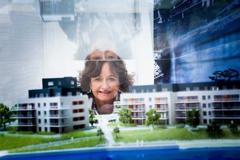 BESTEMOR I FARTA: – Det er hyggelig for bransjen at en kvinne på 55 år kan lykkes, sier Kristin Pettersen.