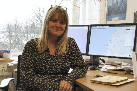 Sagn på kartet: Line Esborg er kulturhistoriker og vet hva folk rundt omkring i Norge var redde for.  Foto: Det humanistiske fakultet / UiO
