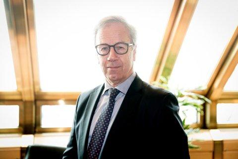 KAN GI NORDMENN RENTESMELL: Øystein Olsen, sentralbanksjef I Norges Bank, har bare satt opp renten én gang i sin sjuårige periode som sentralbanksjef. Det kan bli mange flere i årene fremover. Foto: Paul Weaver