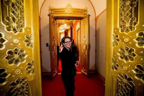 2018.03.15. Oslo. Tone Trøen valgt til Stortingspresident